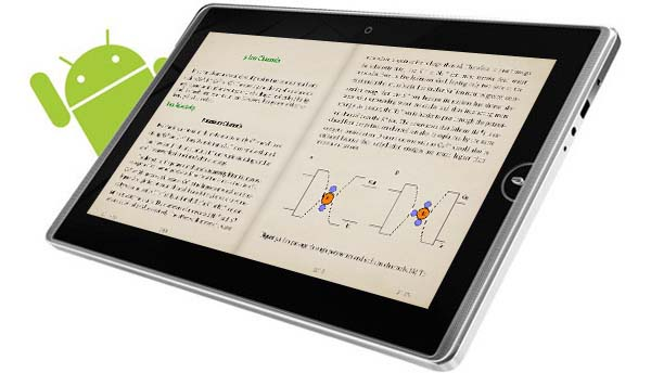 Moon+ Reader tablet lector de ebooks